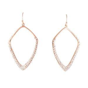 Alexis Bittar Liquid Crystal Kite Drop Earrings